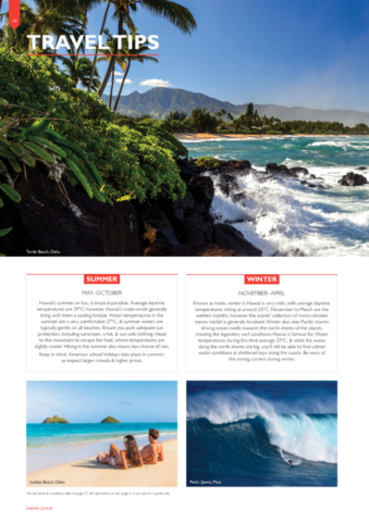 Flight Centre Hawaii Brochure 2019/20